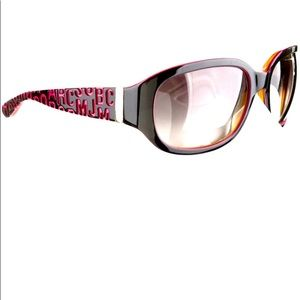 Black and pink sunglasses